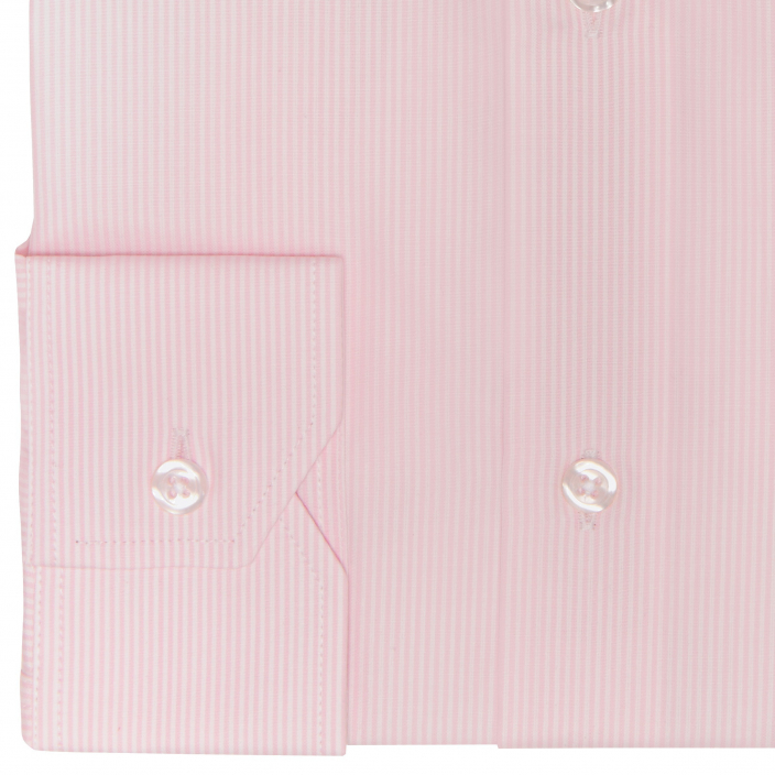Pink Small Stripe Shirt