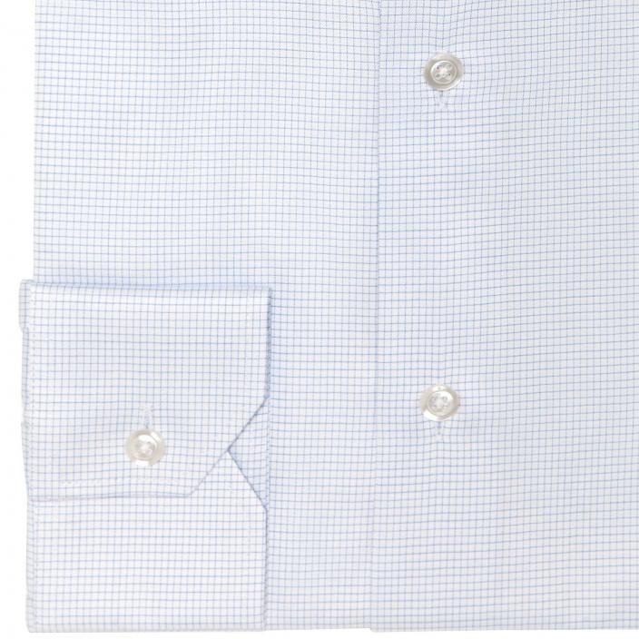 Blue Small Check Shirt