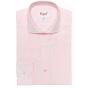 Chemise extra-ajustée à carreaux rose