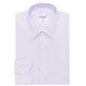 Extra-slim parm shirt with french collar