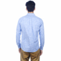Blue melange shirt