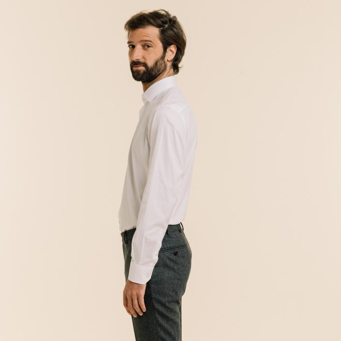 EXTRA-SLIM WHITE SHIRT