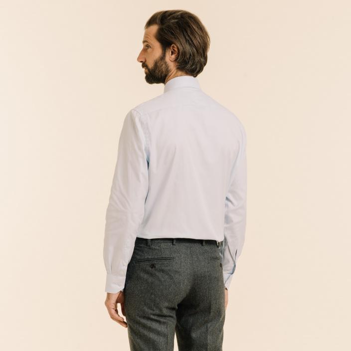Classic fit light blue oxford shirt