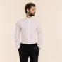 Slim fit premium white pinpoint shirt