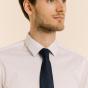 Cravate bleue Prince de Galles
