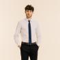 Cravate étroite bleue