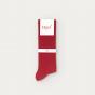 Burgundy socks 7 pairs set