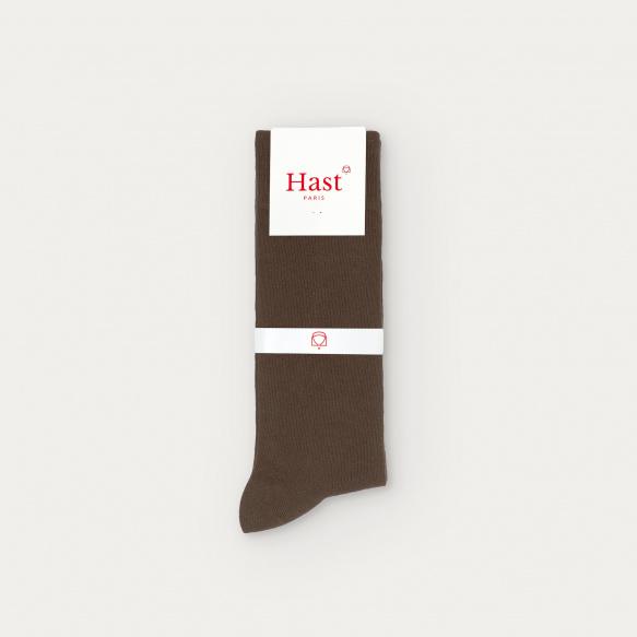 Brown socks 7 pairs set