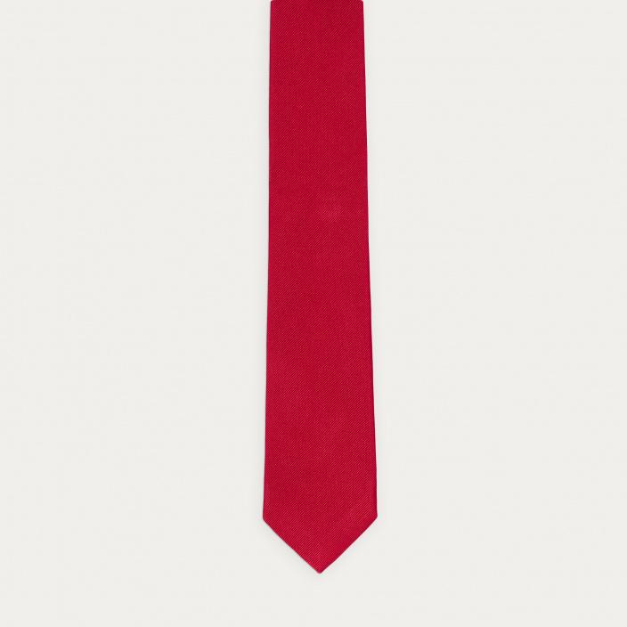 Cravate rouge