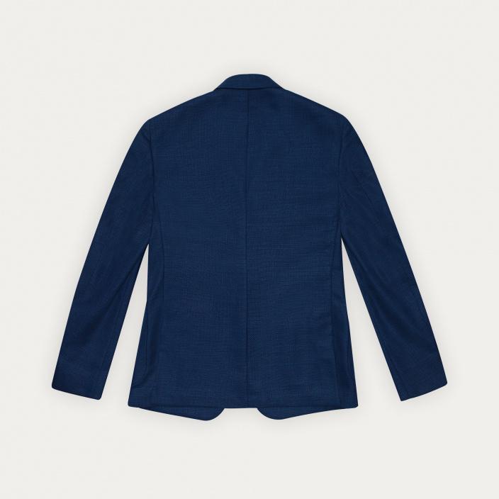 Blazer bleu en laine