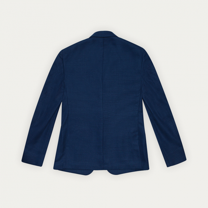 Veste bleue en laine