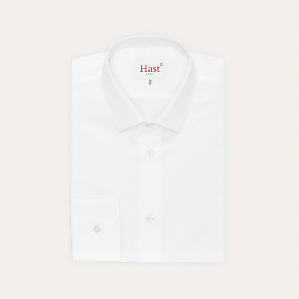 Extra-Slim White Shirt With...