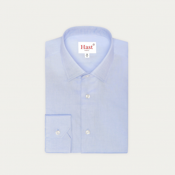 Extra-Slim Blue Shirt With...