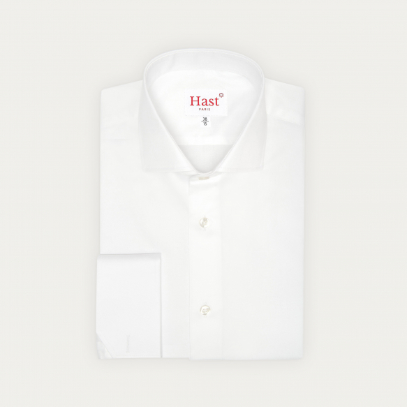 Double Cuff White Shirt