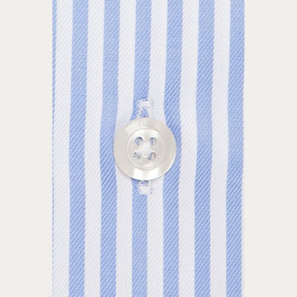 Classic fit blue stripes...