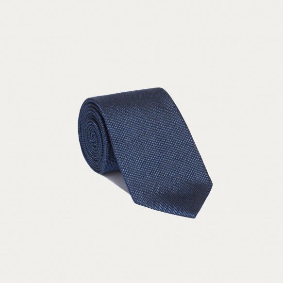 Cravate pied de puce bleue