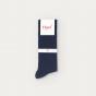 Navy blue socks 7 pairs set