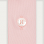 Chemise cintrée en oxford rose