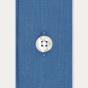 Chemise cintrée en popeline bleu pétrole