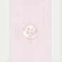 Chemise cintrée en popeline à petites rayures roses