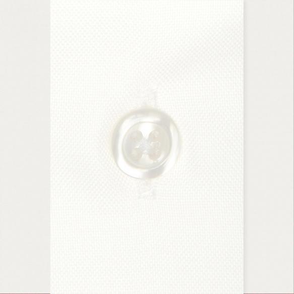 Chemise classique en oxford blanche