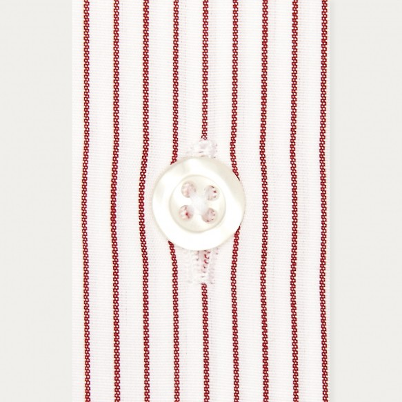 Red Striped Shirt With...