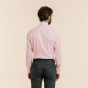 Slim fit pink oxford shirt