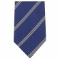 STRIPED BLUE TIE