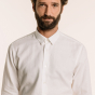 copy of Linen and cotton white shirt