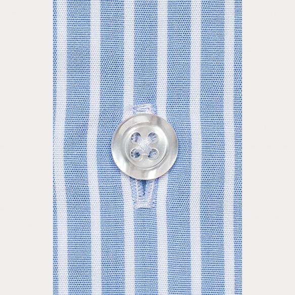 Classic fit poplin blue...