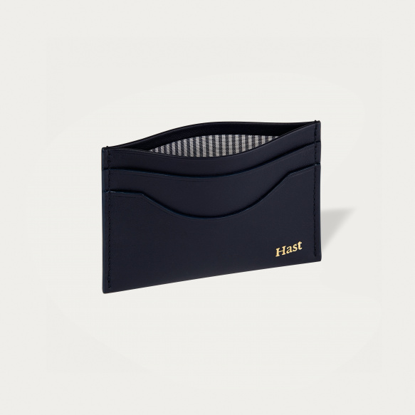 Navy blue cards holder