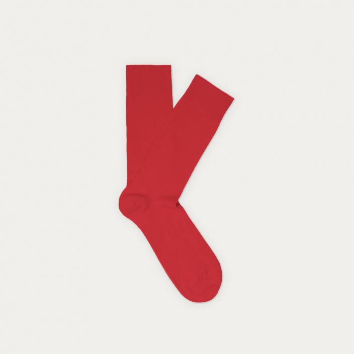 Red socks 7 pairs set