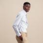 Slim fit light blue oxford shirt