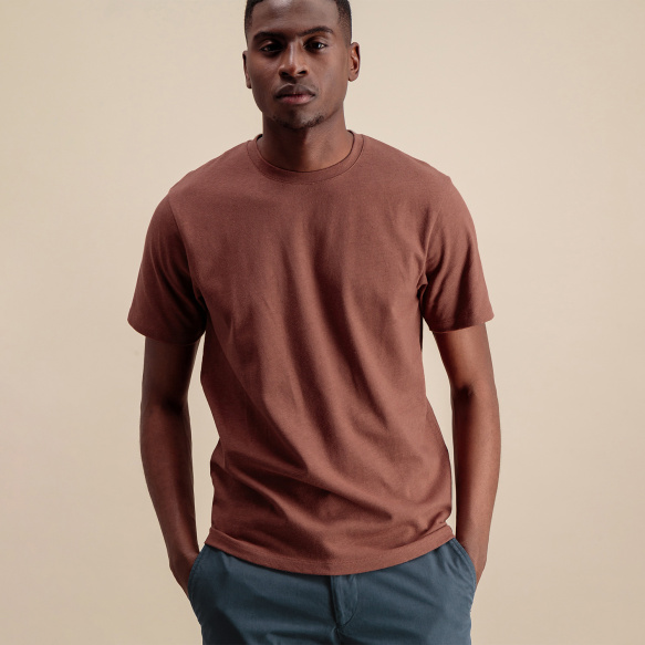 Rust organic cotton and...