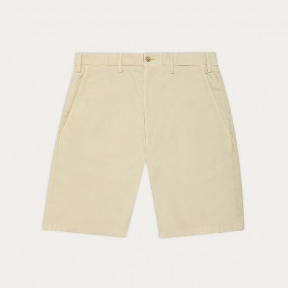 Beige organic cotton shorts