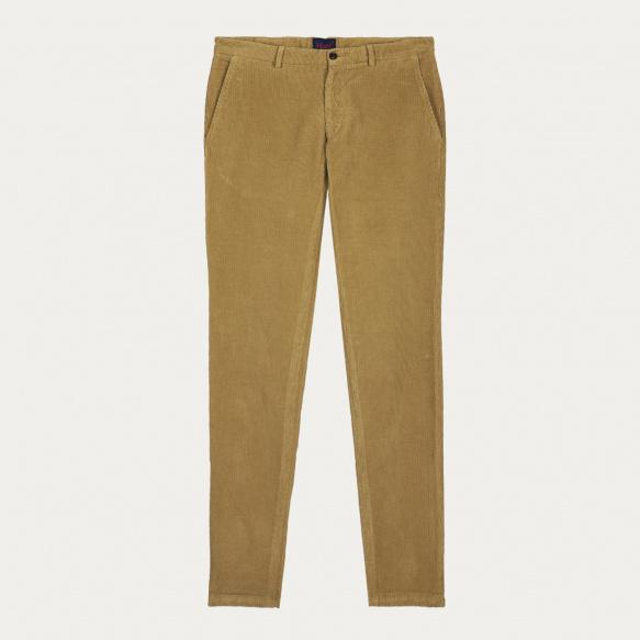 Pantalon en velours sable