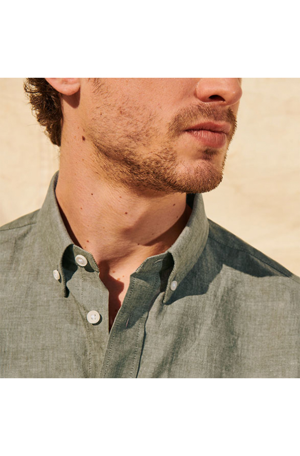 Chemises col boutonné: découvrez notre sélection | Hast