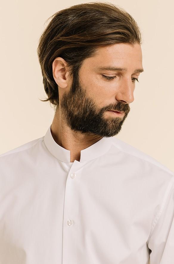 Chemises col mao: découvrez notre sélection | Hast